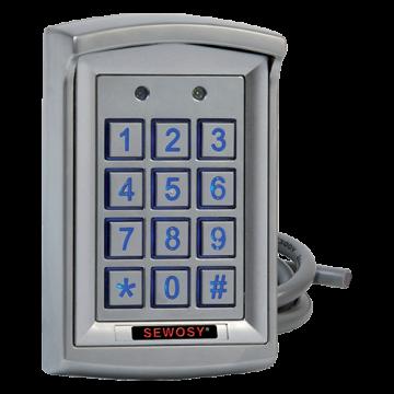 Clavier à code 1010 utilisateurs 2 relais