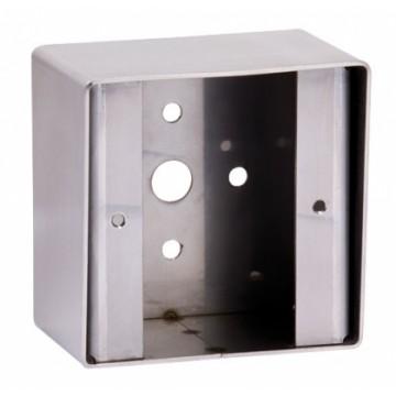 Boîtier applique carré pour gamme bouton poussoir