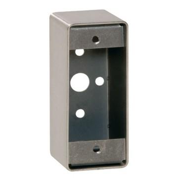 Boîtier applique pour gamme bouton poussoir INOX