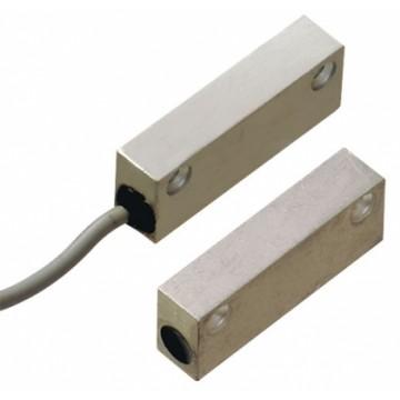 Contact magnétique alu rectangulaire 5 fils 2 m