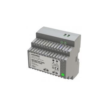 Alimentation sur rail DIN  chargeur 230V AC / 24V