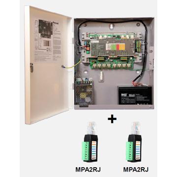 MPA - Contrôleur 4 portes, coffret métallique